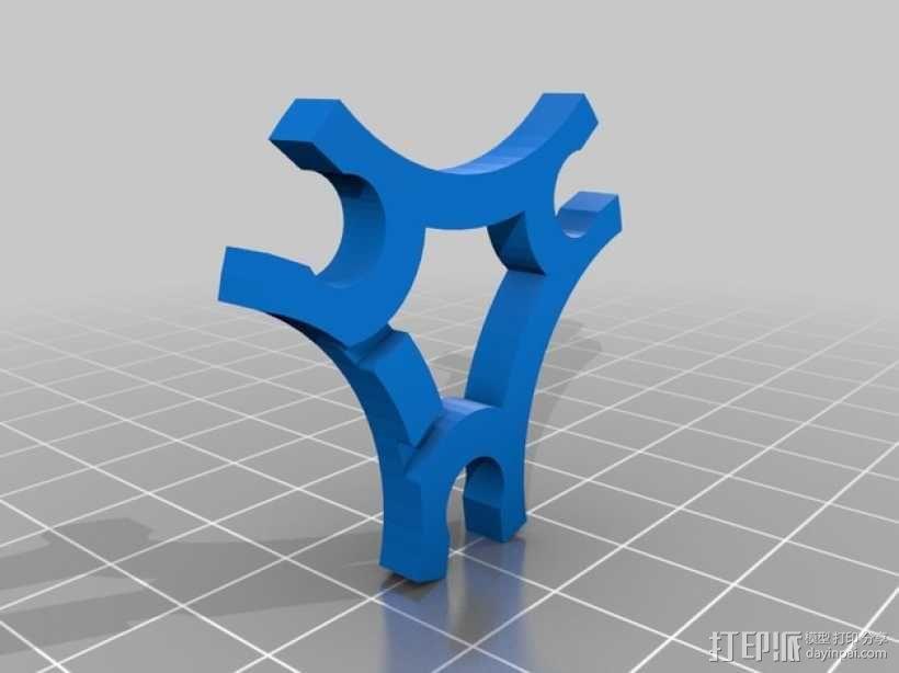 气罐底座 3D模型  图6