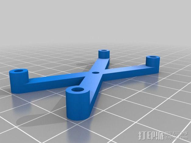Arduino电路板支架 3D模型  图1