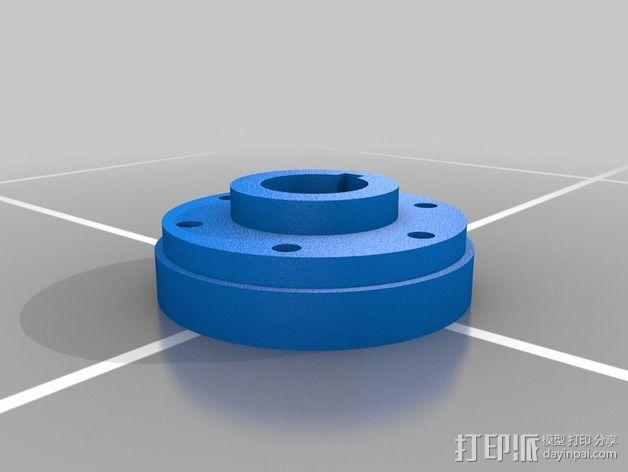 可调凸轮 3D模型  图2