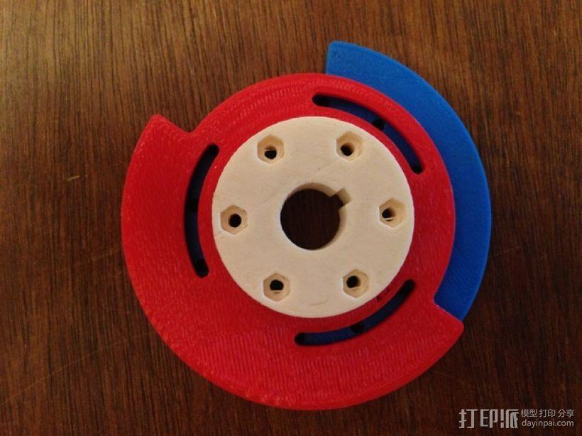 可调凸轮 3D模型  图1
