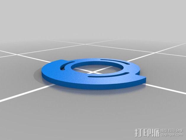 可调凸轮 3D模型  图4