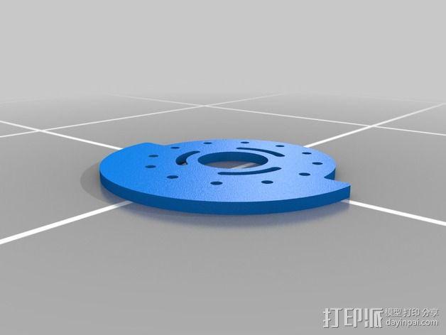 可调凸轮 3D模型  图5