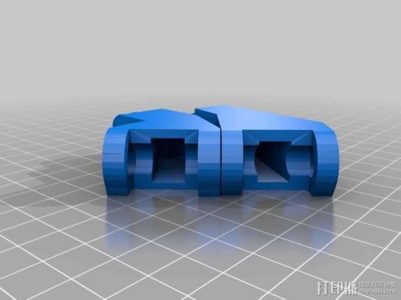 InMoov机器人左手部分 3D模型  图2