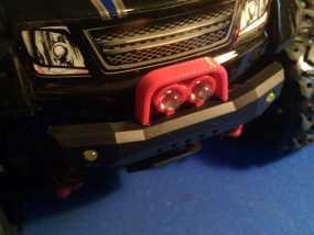 Latrax Teton遥控越野车 LED灯支架 3D模型