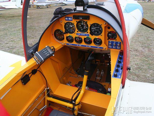 驾驶舱仪表板 3D模型  图2