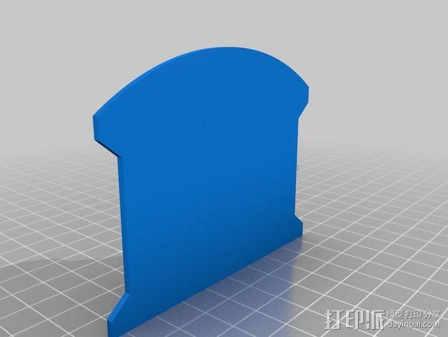 驾驶舱仪表板 3D模型  图6