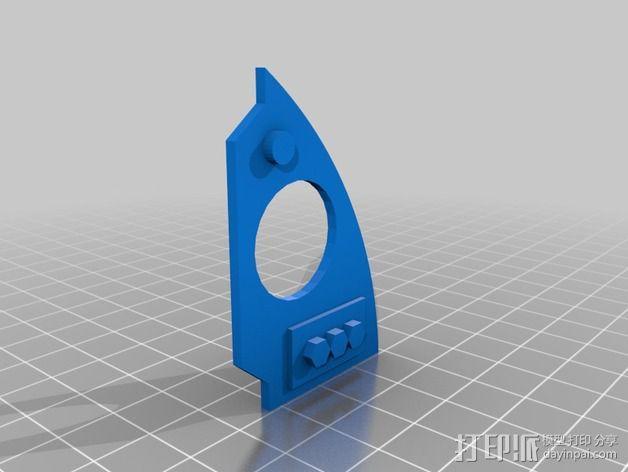 驾驶舱仪表板 3D模型  图9