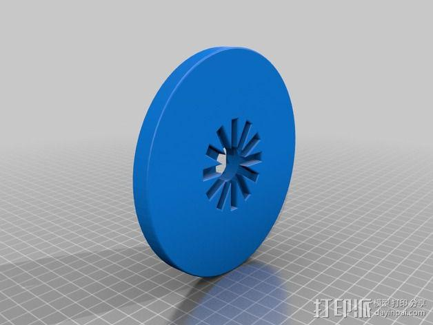 风力发电机  3D模型  图3