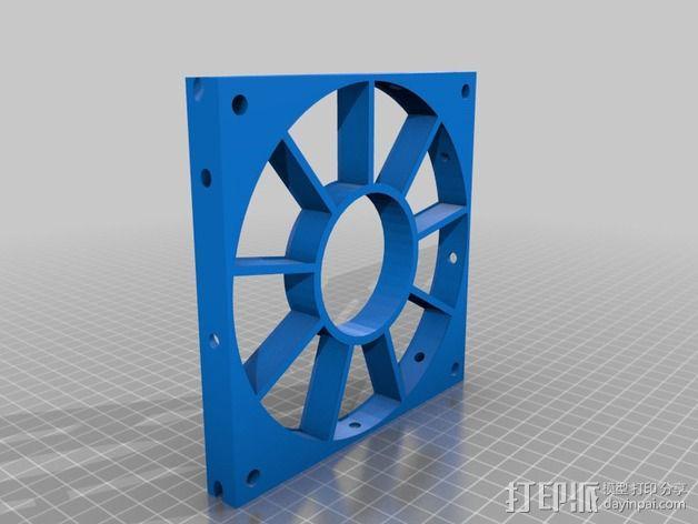 风力发电机  3D模型  图4