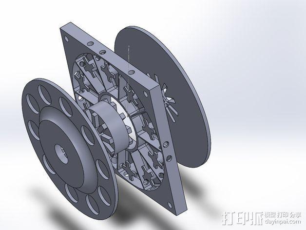 风力发电机  3D模型  图12