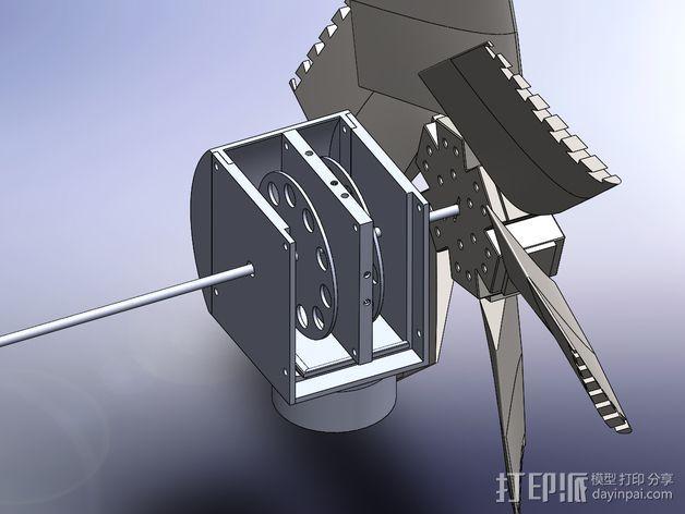 风力发电机  3D模型  图14