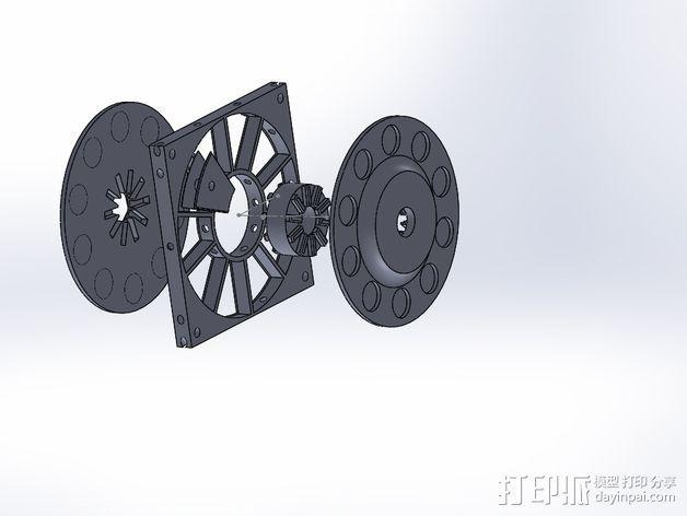 风力发电机  3D模型  图13