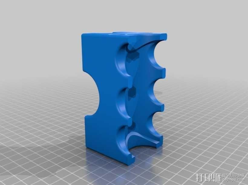 雪茄烟灰缸  3D模型  图2