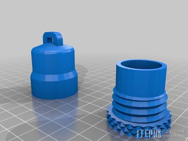 Geocache 寻宝游戏道具 3D模型  图2