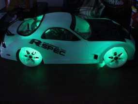 遥控汽车 漂移轮 3D模型