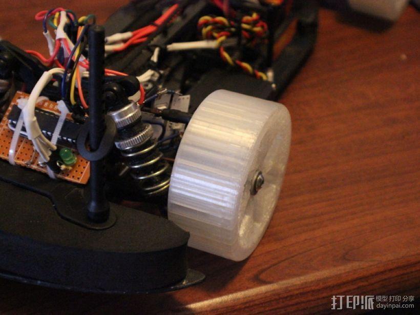 遥控汽车 漂移轮 3D模型  图8
