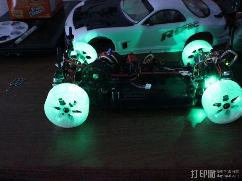 遥控汽车 漂移轮 3D模型  图9