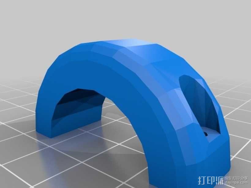 自行车车灯 3D模型  图8