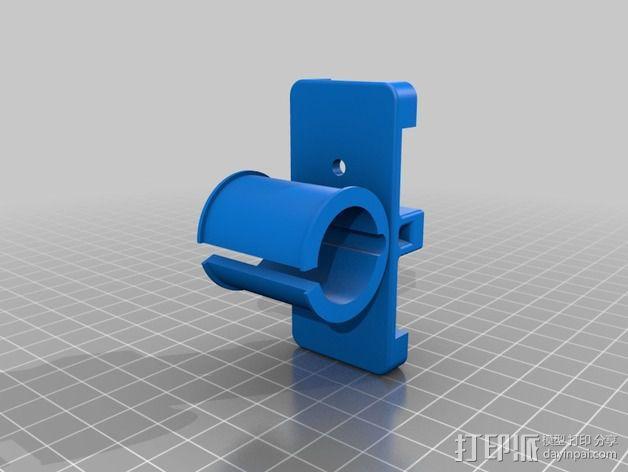 八木天线 支撑零部件 3D模型  图2