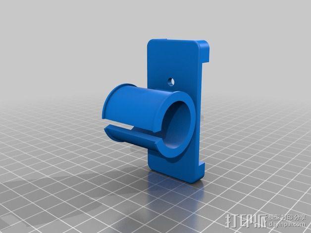 八木天线 支撑零部件 3D模型  图3