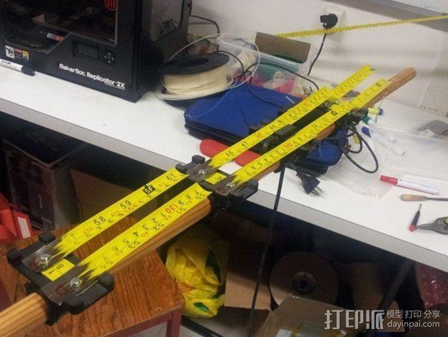 八木天线 支撑零部件 3D模型  图5