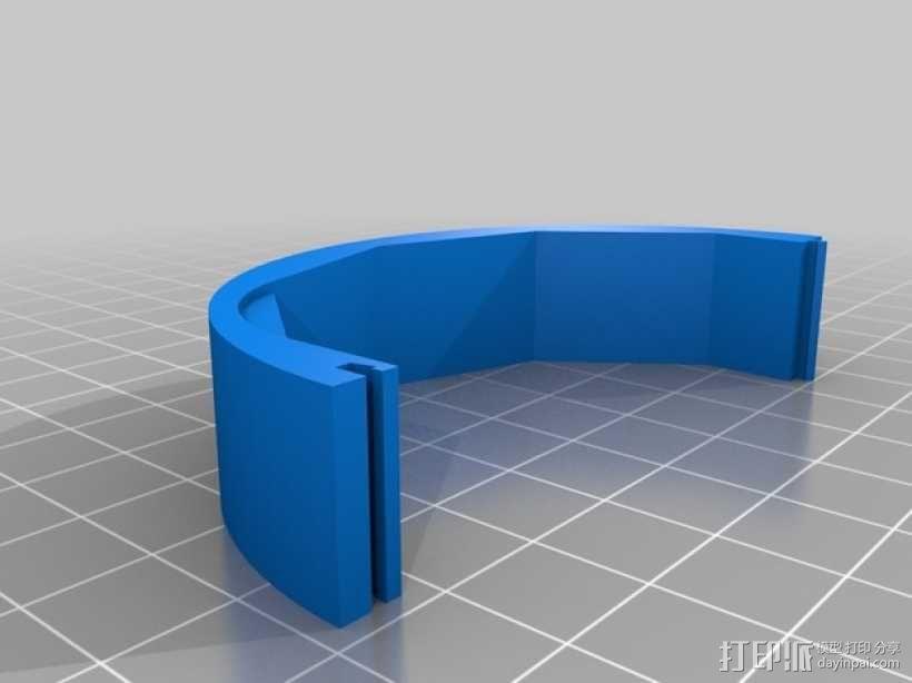 Speedia钓鱼绕线器零部件 3D模型  图1