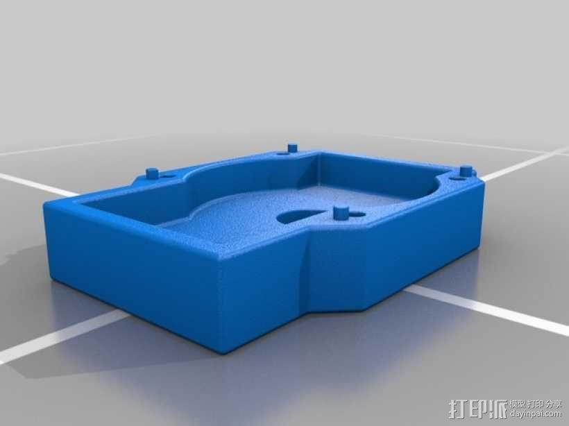 变速器箱体  3D模型  图4