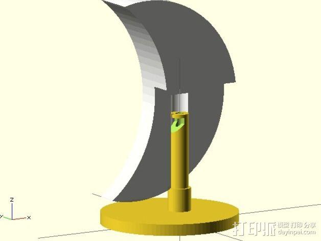 夜间照明灯 3D模型  图4