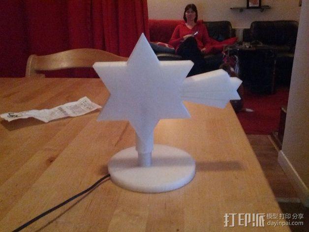 夜间照明灯 3D模型  图2