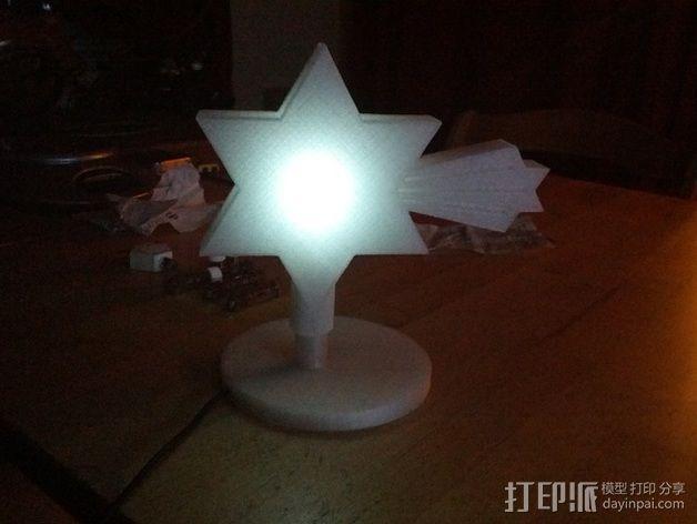 夜间照明灯 3D模型  图5