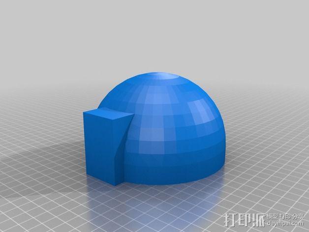 四轴飞行器零部件 3D模型  图2