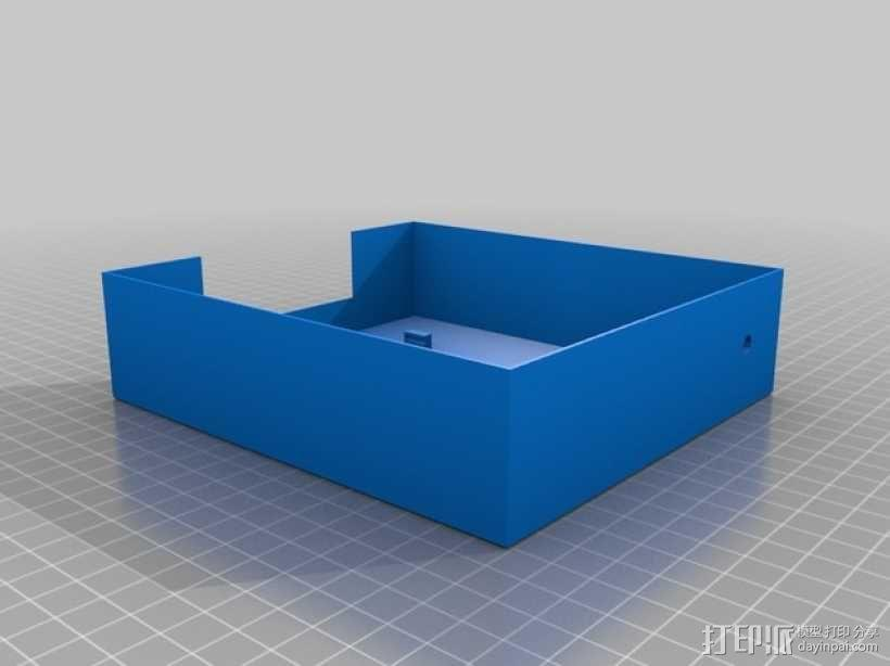 迷你树莓派打印机 3D模型  图4