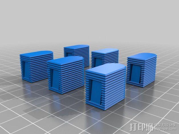EC5连接头 帽盖 3D模型  图4