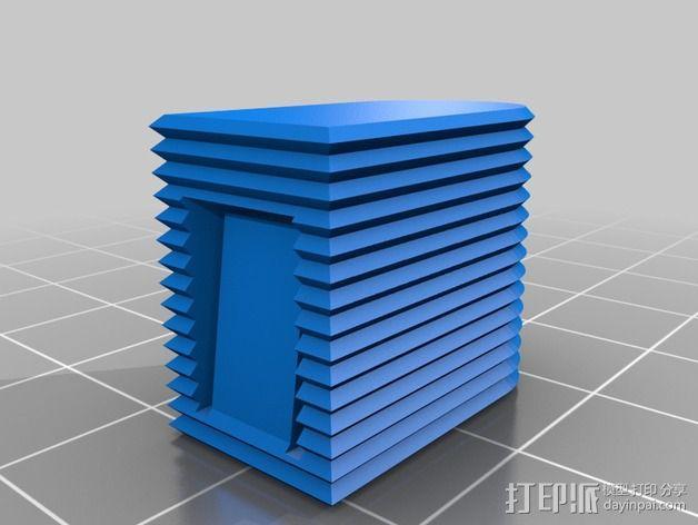 EC5连接头 帽盖 3D模型  图3