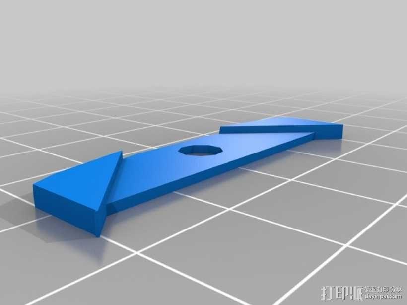 路虎汽车 控制屏 3D模型  图2