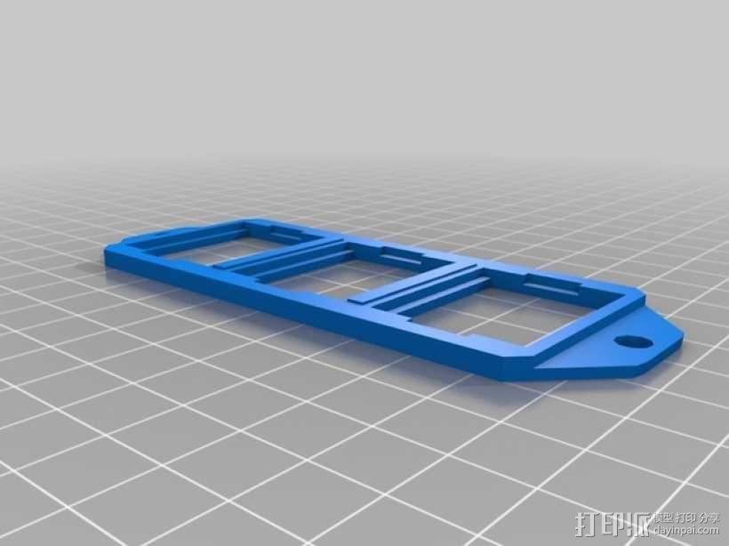 路虎汽车 控制屏 3D模型  图3