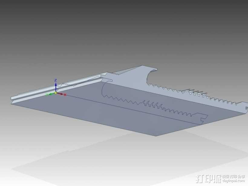 洗矿槽 3D模型  图2