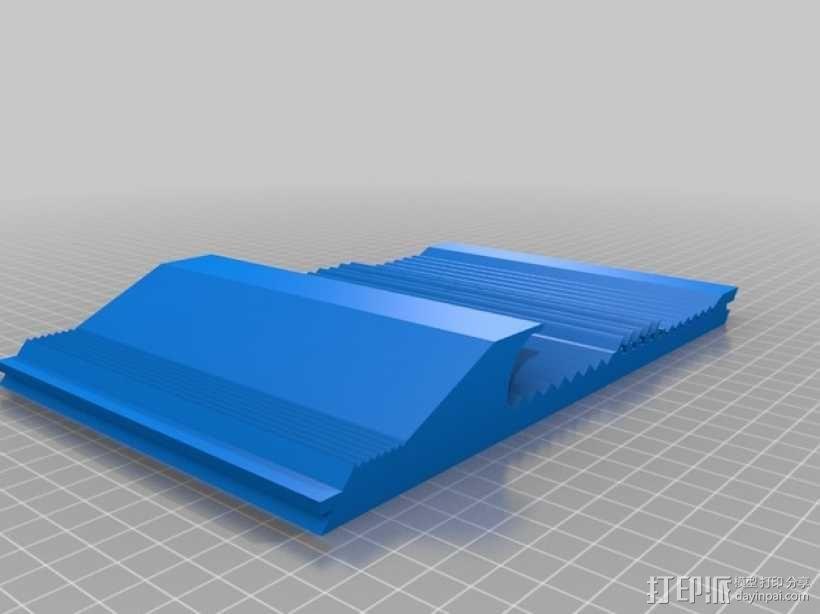 洗矿槽 3D模型  图1