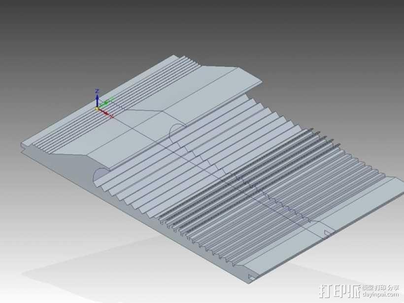洗矿槽 3D模型  图4