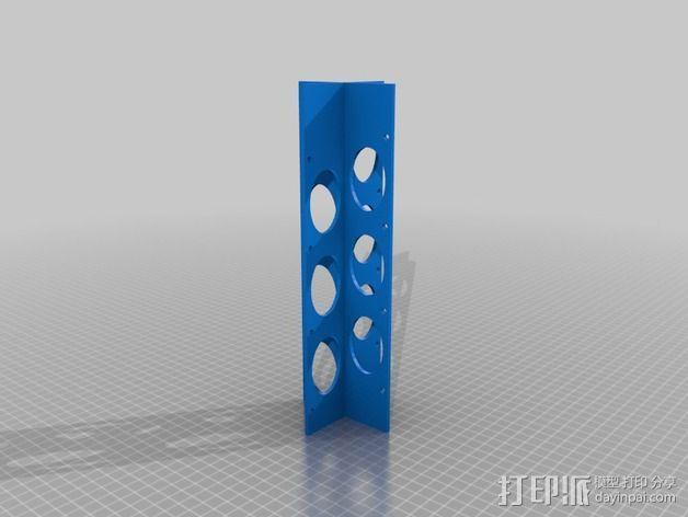 FPV天线支架 3D模型  图3