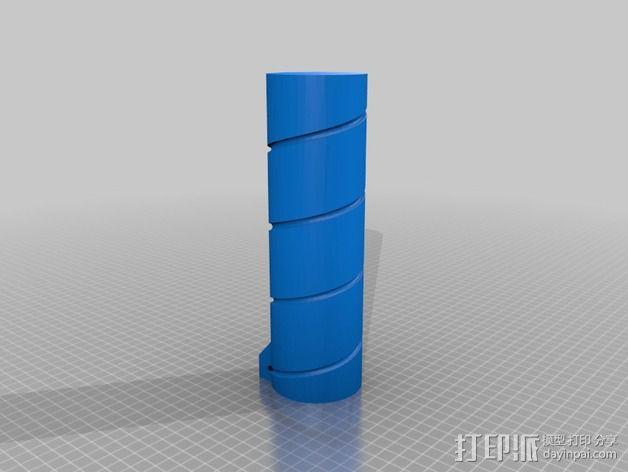 FPV天线支架 3D模型  图4