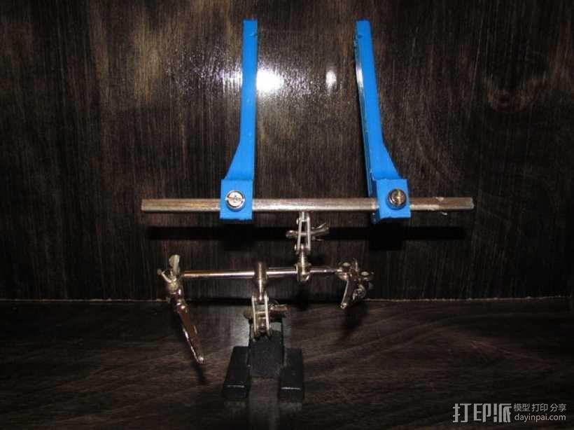 PCB虎钳 3D模型  图1