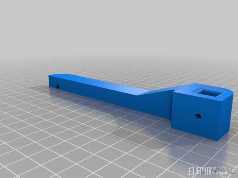 PCB虎钳 3D模型  图2