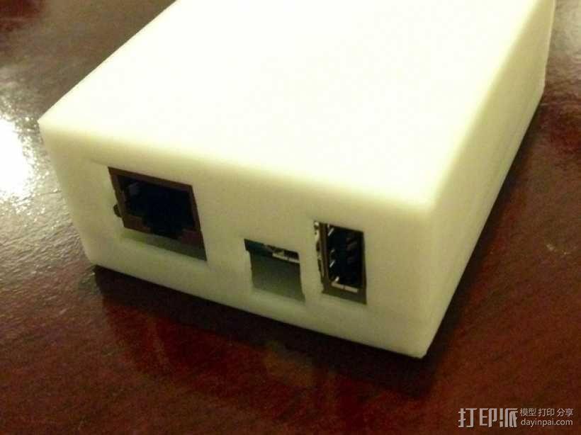 Arduino Yun电路板外壳 3D模型  图1