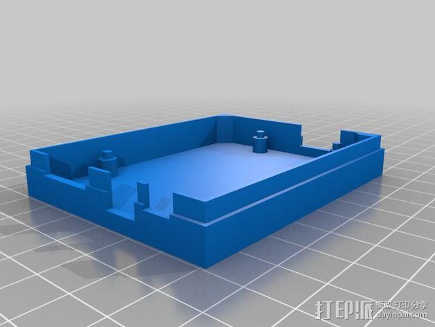 Arduino Yun电路板外壳 3D模型  图3