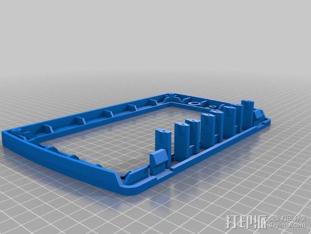 无线电面板  3D模型  图1