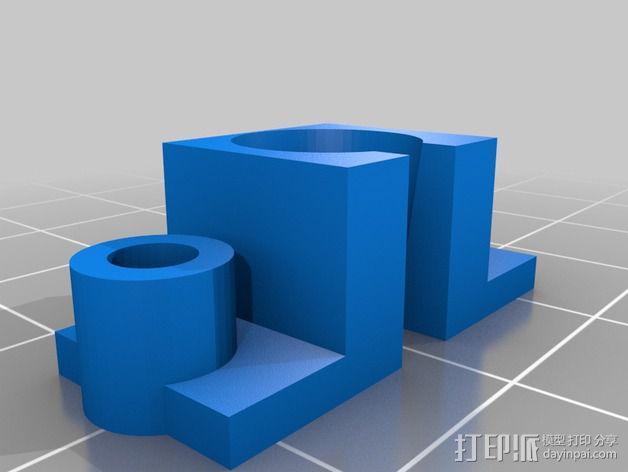 无线电面板  3D模型  图2
