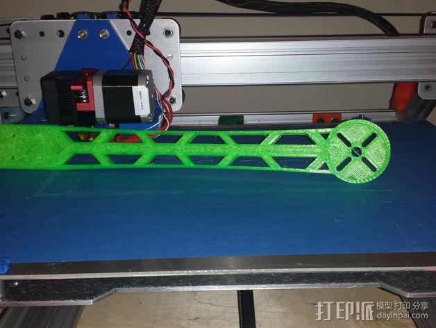四轴飞行器吊杆 3D模型  图5