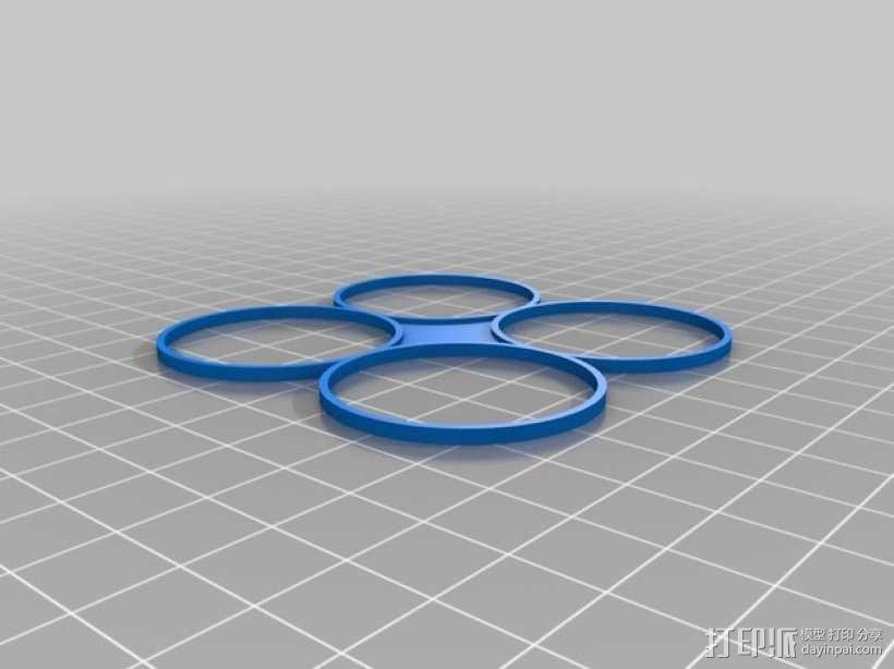螺旋桨保护罩 3D模型  图1