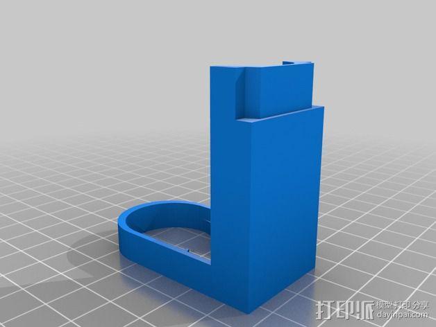 索尼相机支架 3D模型  图3